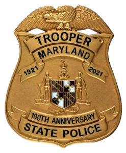 MSP 100th Anniversary Badge Image