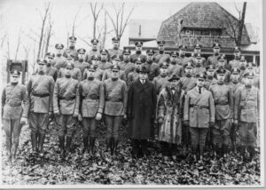 First Maryland State Police Force, Saunders Ridge, February 10, 1921 Image