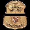 MSP Trooper Badge Shrouded Image