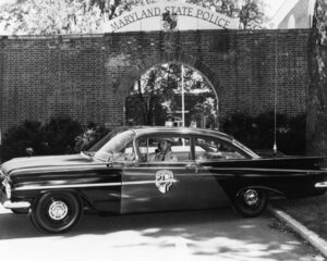 1957 First Black MSP Trooper Image