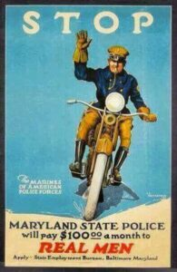 MSP Vintage Recruiting Poster Image